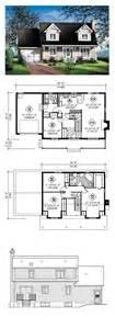 craftsman open floor plans cape cod house plan 49687 total living area 1564 sq ft