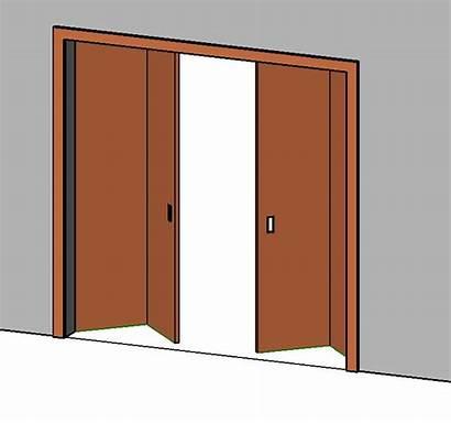 Door Folding Autocad Dwg 3d Bifold Rfa
