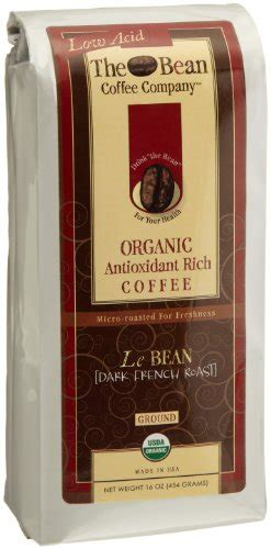 We blend our coffees with flavor in mind. For Sale ## The Bean Coffee Company Le Bean (Dark French Roast), Organic Ground, 16-Ounce Bags ...