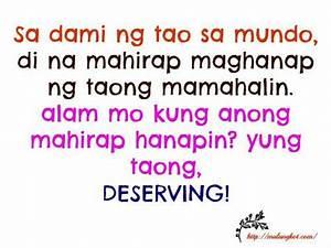 Mga Patama sa mga Nagmamahal the Best Tagalog love quotes ...