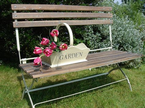 Country Style Garden Bench  Bliss And Bloom Ltd
