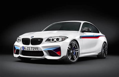 bmw m2 performance bmw m2 with suite of m performance options revealed performancedrive