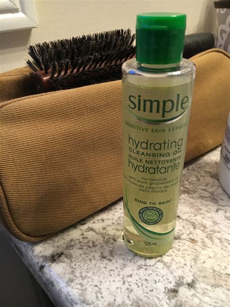 Simple Hydrating Cleansing Oil Reviews In Beauty Oil
