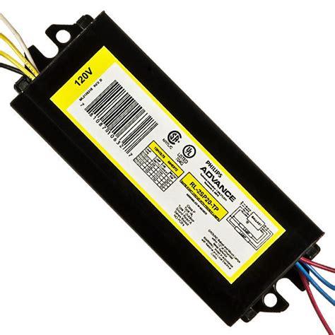 Advance 4 L T12 Ballast by Advance Rl 2sp20 Tp I T12 Fluorescent Ballast 120v