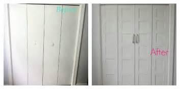 kitchen paneling backsplash remodelaholic bi fold to paneled door closet makeover