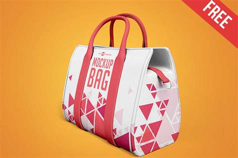 Includes special layers and smart objects for your work. Free Download Vibrant Handbag Mockup in PSD - Designhooks