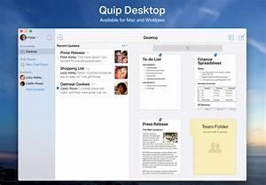 Quip39s new collaborative desktop app challenges microsoft for Google docs app desktop