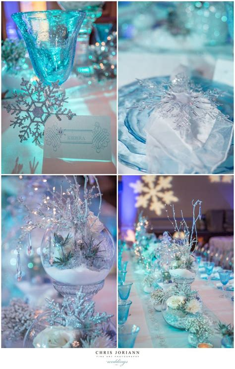 winter wonderland themed sweet  sweet sixteen ideas