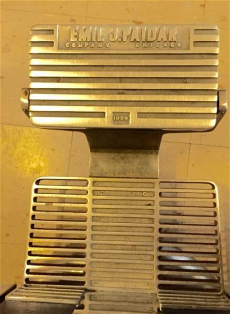 emil j paidar barber chair 1959 2 emil j paidar 1959 antique barber chairs