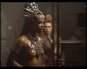 Aaliyah as Queen of the Damned