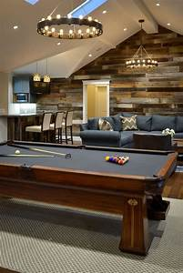 Creating A Basement Game Room: 4 Tips And 26 Examples ...