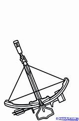 Crossbow Coloring Designlooter sketch template
