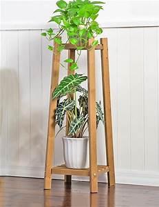 Regal Für Balkon : xyz massivholz 2 tier boden blumentopf regal pflanzen stehen blumenregal f r wohnzimmer ~ Markanthonyermac.com Haus und Dekorationen