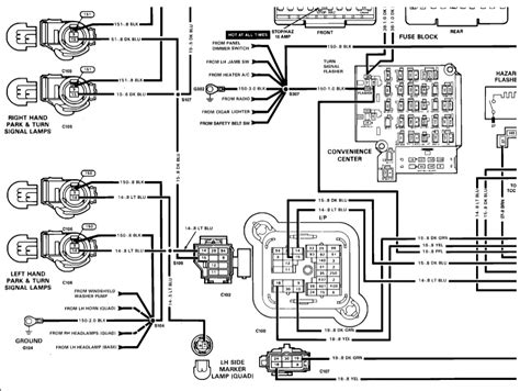 1989 Chevy Wiring Diagram by No Turn Signals Electrical Problem 1989 Chevy Truck V8