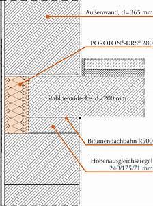 Poroton Oder Porenbeton : poroton deckenrandschalen drs erleichtern sichere ~ Lizthompson.info Haus und Dekorationen