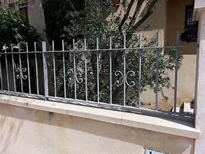 Muret De Cloture : cl tures en fer forg ~ Melissatoandfro.com Idées de Décoration