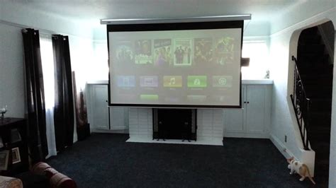 epson  projector  favi  electric screen youtube