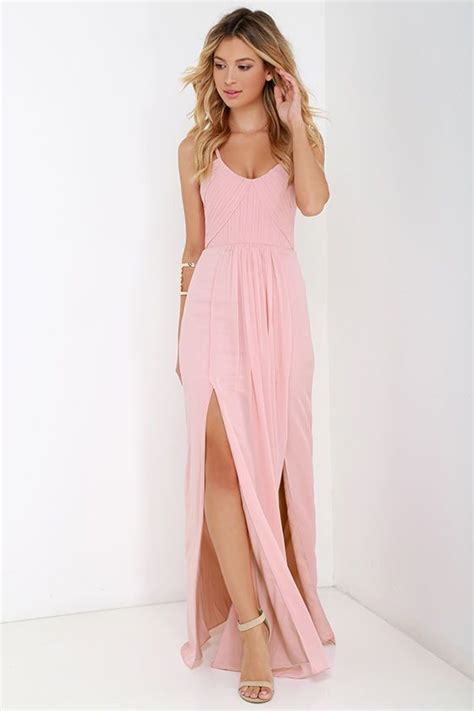 Best 25+ Blush pink dresses ideas on Pinterest | Pink spring dresses Pink maxi and Nude spring ...