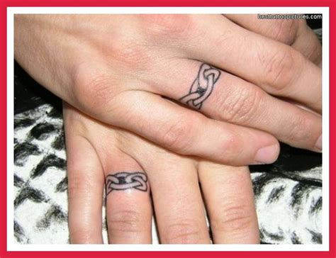 17 Best Ideas About Wedding Ring Tattoos On Pinterest