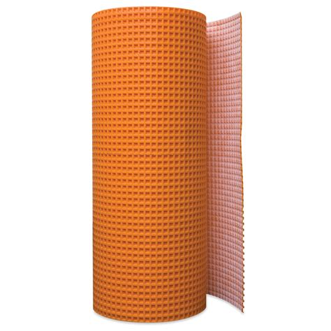 ditra uncoupling membrane shop schluter systems 54 sq ft ditra uncoupling membrane at lowes com