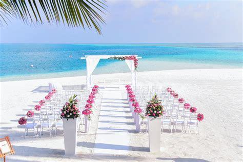 interesting beach wedding  pexels