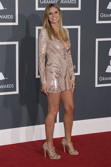 Heidi Klum Annual Grammy Awards Los