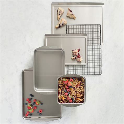 clad  stainless tri ply square baking pan  cutlery