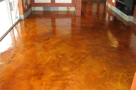 stained concrete floors   home flooring ideas