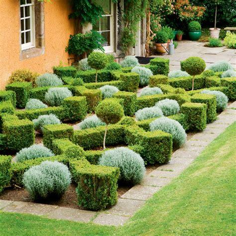 Box Parterre Garden  Formal Garden Design Idea  Ideal Home