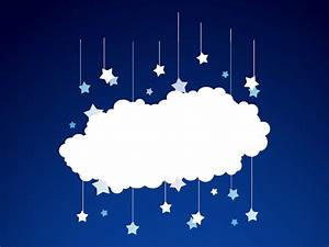 Stars And Cloud Vector