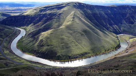 yakima river canyon central washington state youtube