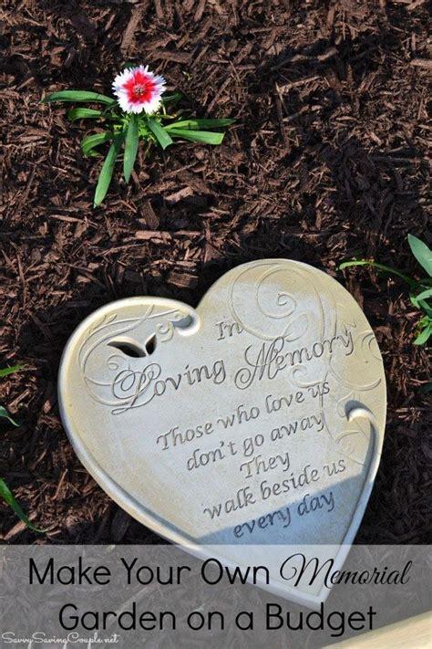 memorial garden   budget memory