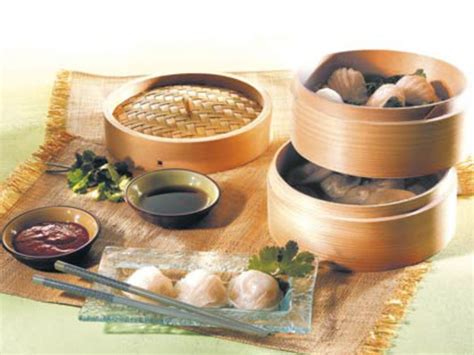 cuisine chinoise vapeur cuit vapeur en bambou les ustensiles de la cuisine