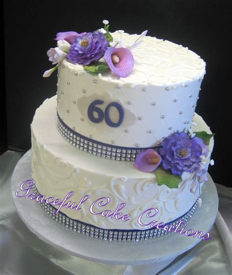 Birthday cake clip art animated birthday cake clip art pictures. Elegant 60th Birthday Cake | Grace Tari | Flickr