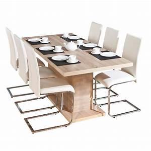 Pied Table Central : myca table pied central avec allonge achat vente ~ Edinachiropracticcenter.com Idées de Décoration