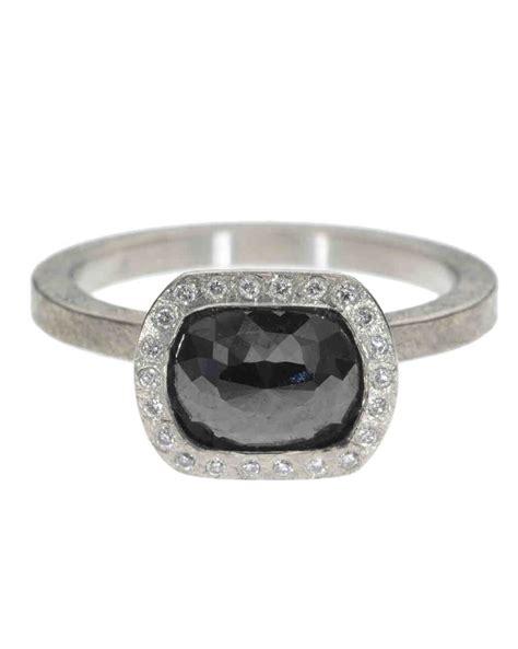 the new lbd the little black diamond engagement ring
