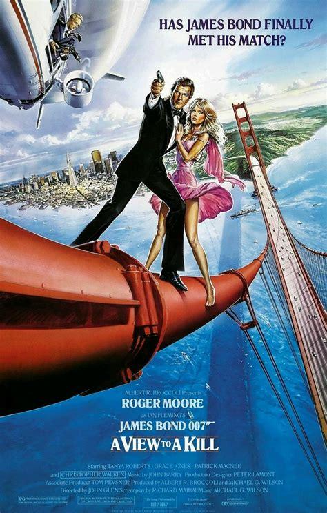 007 美しき獲物たち in 2020 | Roger moore, James bond, Christopher ...