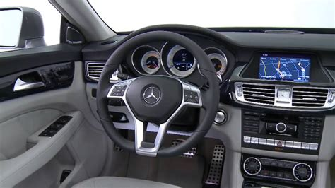 mercedes benz cls class  interior youtube