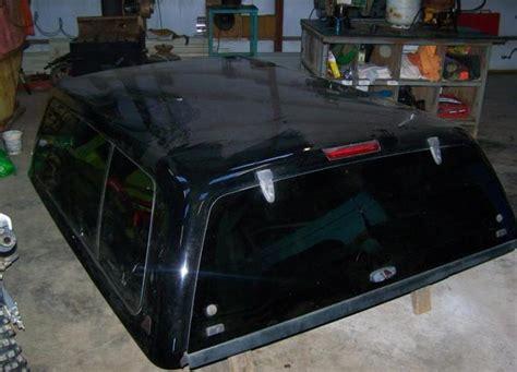 black leer fiberglass campershell ford  martinsville va  sale  danville virginia