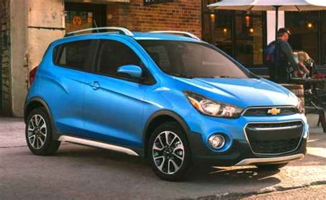 2019 Chevrolet Spark Activ Review  Chevy Model