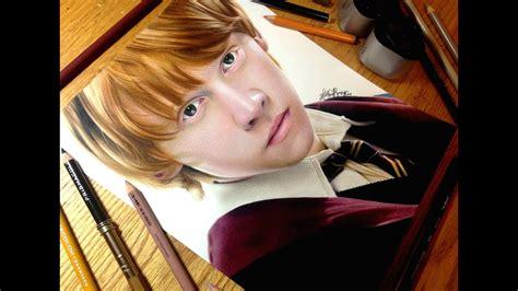 drawing ron weasley youtube