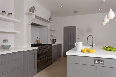contemporary shaker kitchens battersea handleless shaker kitchen higham furniture 2543