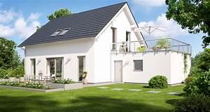 Fertighaus Mit Dachterrasse : ihr massivhaus mit garage kern haus ~ Lizthompson.info Haus und Dekorationen
