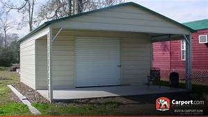 metal garage with boxed eave roof 2039 x 2639 shop garages With 20x26 garage
