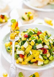 Corn Zucchini Salad