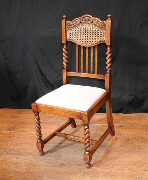 set  barley twist dining chairs kitchen farmhouse chair