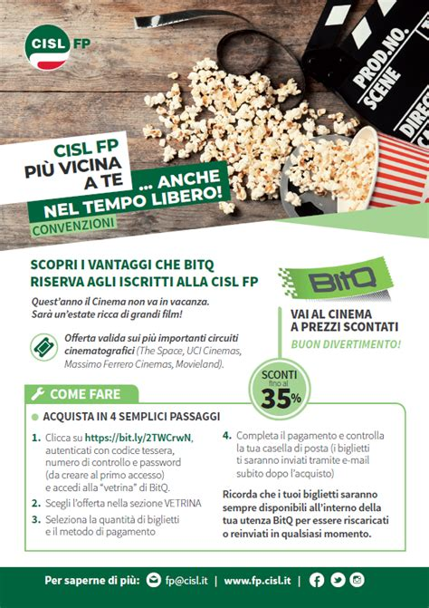 Uci Cinema Pavia by Convenzioni 171 Fp Cisl Lombardia