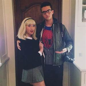 Gwen Stacy and Peter Parker costume | Holidays | Pinterest ...