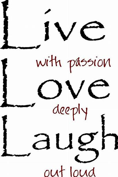 Laugh Wall Quotes Words Vinyl Clip Silhouette