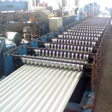 trapezoid roll forming machine manufacturer exporter india